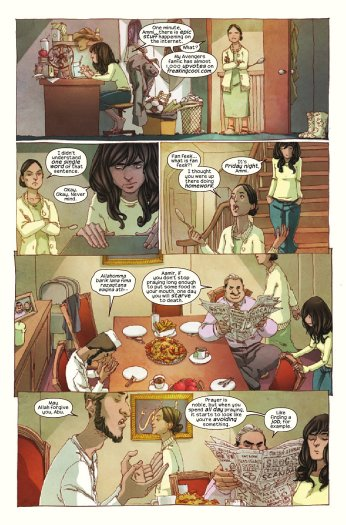 Ms Marvel No Normal Panel 3
