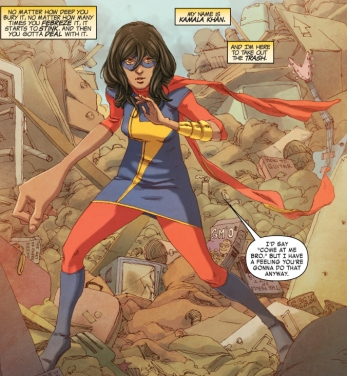 Ms Marvel No Normal Panel 5