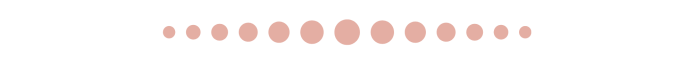 This image has an empty alt attribute; its file name is pink-dot-divider-1.png